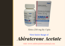 Xbira (Generic Zytiga): Abiraterone 250mg Price India, USA, China, Russia