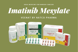 Veenat Imatinib : Generic Gleevec is the solution for various Cancers