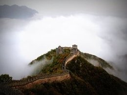 Enjoy Camping on the Great Wall of China