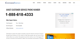 CSS for Avast Provide By Getcustomerservices.Com