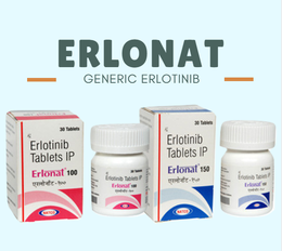 ERLONAT 150MG ERLOTINIB TABLET - Buy Medicines Online at Best Price