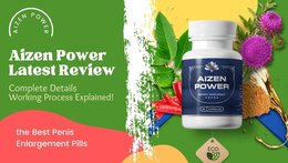 Aizen Power Review - What Herbs Are Used In It?