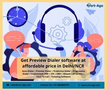 Get Preview Dialer Software at affordable price in Delhi/NCR