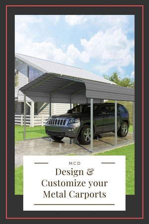Design & Customize your Metal Carports with Metal Carports Direct