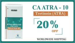 CA ATRA Tretinoin 10 mg Oral Capsule Online at Best Price | Save Time & Money