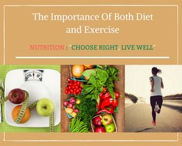 A Healthy Lifestyle: Importance of Diet and Exercise
