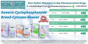 cyclophosphamide cytoxan tablet at an Affordable Cost