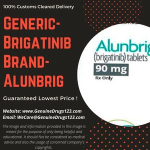 Generic #Brigatinib Brand #Alunbrig #Tablets | 100% Customs Cleared Delivery